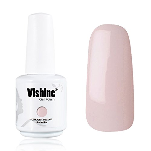 Vishine-Gelpolish-Professional-Manicure-Salon-UV-LED-Soak-Off-Gel-Nail-Polish-Varnish-Color-MistyRose1361