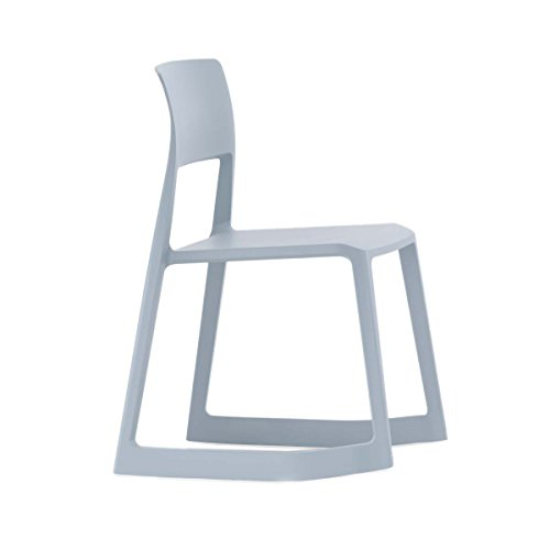 Vitra 440 230 0023 Tip Ton Stuhl, eisgrau stapelbar