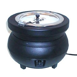 11 Quart Black Colonial Kettle™ Rethermalizer (15-0061) Category: Heat Lamps, Food Warmers and Accessories