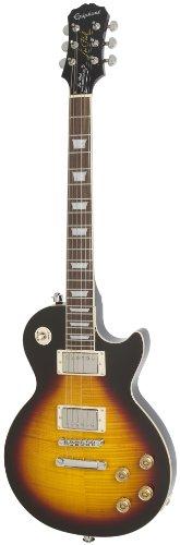 Epiphone ENTPVSNH1 Les Paul Tribute Plus Chitarra Elettrica con Pickup Gibson '57 Classics di Serie e Parallelo, Raggera Vintage