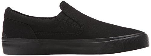 DC Men's Trase Slip-On TX Skate Shoe, Black 3, 11 M US