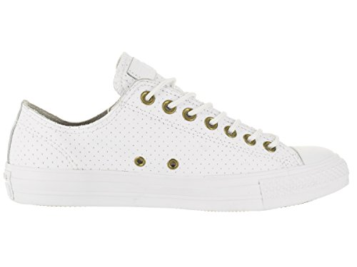 Converse Womens Chuck Taylor All Star Perforated Leather Sneaker