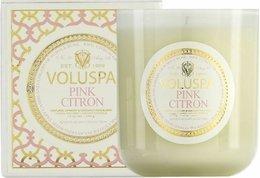 Pink Citron Classic Maison Candle, 100 hour