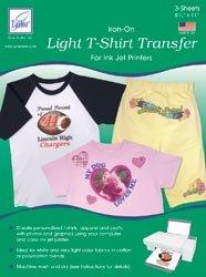 June Tailor Light T shirt Inkjet Transfers 8 1/2