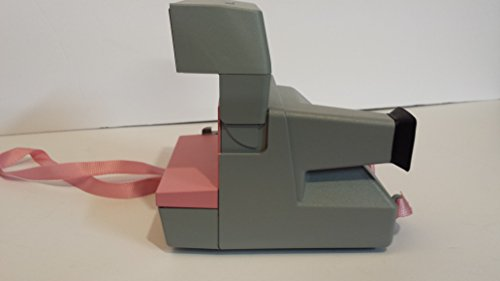 Vintage Polaroid Pink & Gray Cool Cam 600 Instant Camera 2