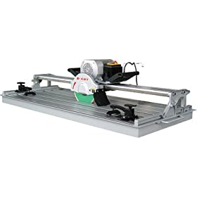 D-Cut Wet Tile / Stone Saw - 7in., Model# TA-070