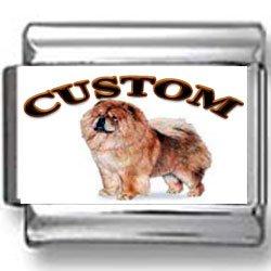 Chow Chow Dog Custom Photo Italian Charm
