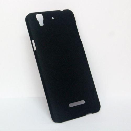 Koko Premium Rubberized Matte Hard Back Case Cover For Micromax YU Yureka -Black