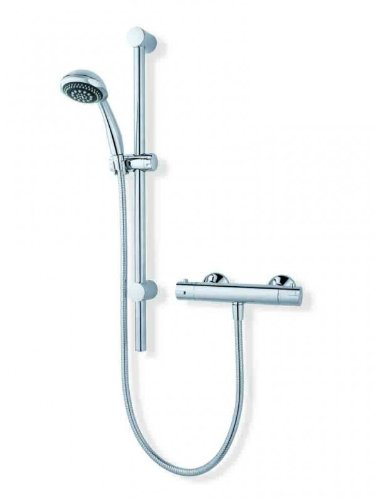 MX Atmos Sigma Thermostatic Bar Mixer with Riser Rail