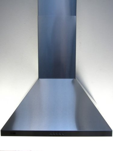 Cooker Hood 90cm Stainless Steel Extract Fan. Massive 850m3/hr Extraction with FREE Vent Kit Included