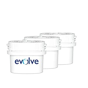 Aqua Optima Evolve 30-Day Water Filter 3 pack - 3 months' supply