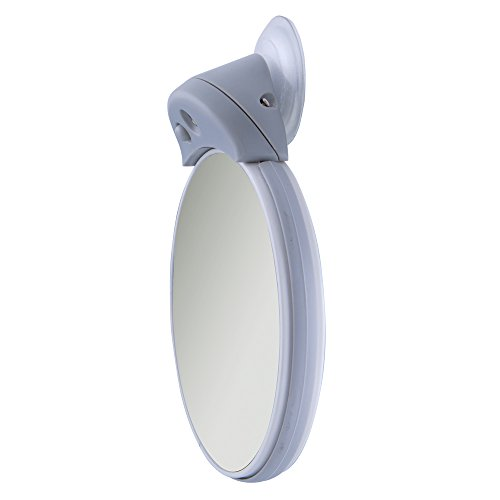 Zadro 5x 10x Led Lighted Spot Mirror With Suction Cup