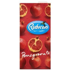 Rubicon Pomegranate Juice Drink 1 Litre (Pack of 12)