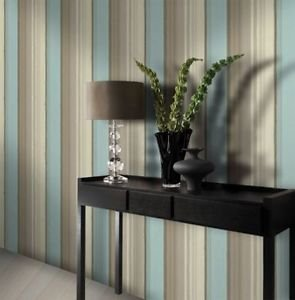 Gran Deco Elise Wallpaper - Duck Egg from New A-Brend