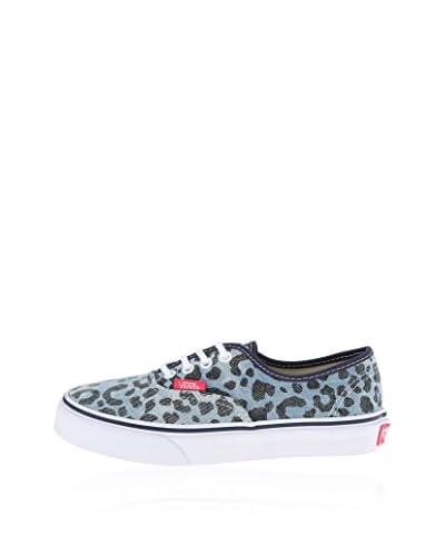 Vans Sneaker K Authentic [Blu Denim]