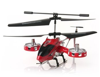 4-Channel Avatar Infared RC Helicopter with Gyroscope (Red) + Worldwide free shiping