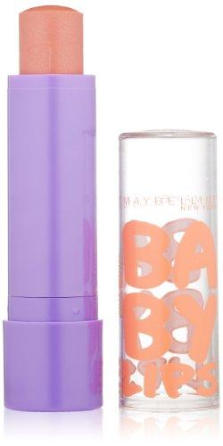 Maybelline New York Baby Lips Moisturizing Lip Balm, Peach Kiss, 0.15 Ounce front-994525
