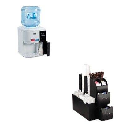 KITAVAWD31ECEMSCAD01BLK - Value Kit - Avanti Tabletop Thermoelectric Water Cooler (AVAWD31EC) and Ems Mind Reader Llc Coffee Organizer (EMSCAD01BLK)