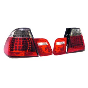 1999-2003 Bmw E46 3 Series Convertible Only Clear Led Tail Lights