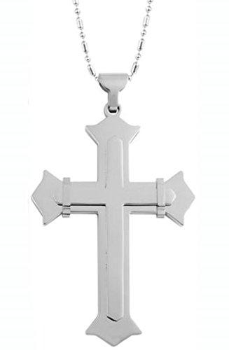 aienid-acero-inoxidable-collares-colgantes-de-hombre-cadena-cruz-bound-73x52mm-2-esquinas-rood-plata
