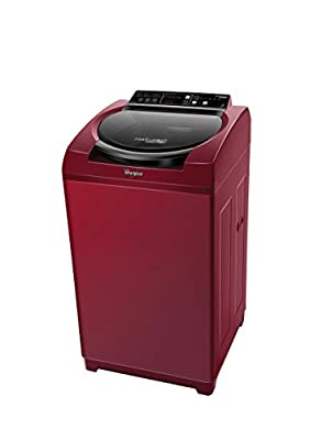 Whirlpool Stainwash Deep Clean  Fully-automatic Top-loading Washing Machine (6.2 kg, Wine Exotica)