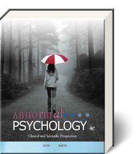 Abnormal Psychology Clinical and Scientific Perspectives 4/e