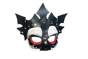 [Viking Skull Eyeglass Mask Evil Queen King Warrior Medieval Costume Accessory] (Dragon Warrior King Adult Mens Costumes)