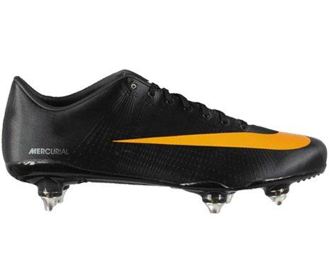 bffa99deccc Nike Mercurial Vapor Superfly II SG Mens Soccer Cleats  396126-081  Black