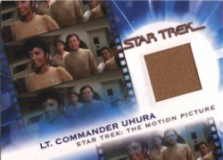 Complete Star Trek Movies MC9 Lt. Commander Uhura Costume Card #532