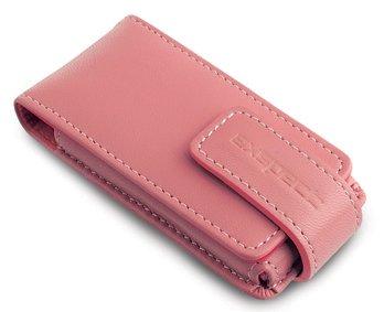 Exspect iPod Nano (1st & 2nd generation) Pink Leather Case