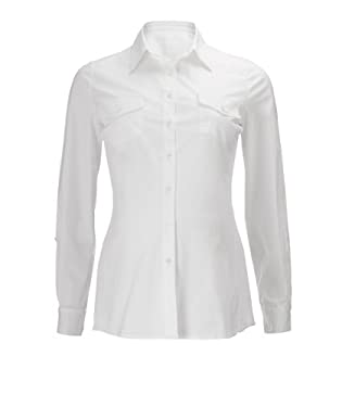 Maternity White Jersey Side Panel Shirt
