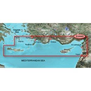GARMIN BLUECHART G2 HXEU506S CRETE TO CYPRUS MICROSD & SD