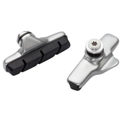 Image of Jagwire Sleek Pro Road Force Bicycle Caliper Brake Pads - Pair - Polished Silver - BR0043J (B0026JCNUS)