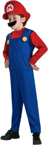Rubie's Costume Co Boys Costumes Super Mario Bros. Mario Costume