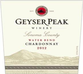 2012 Geyser Peak Water Bend Chardonnay, Av 750 Ml