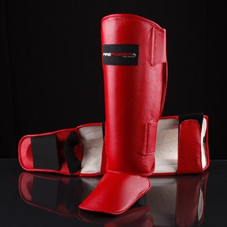 Blitz Sport Firepower Leather Shin & Instep