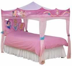 Disney princess s 39 allume lit baldaquin unique jeux et jouets - Lit mezzanine quel age ...