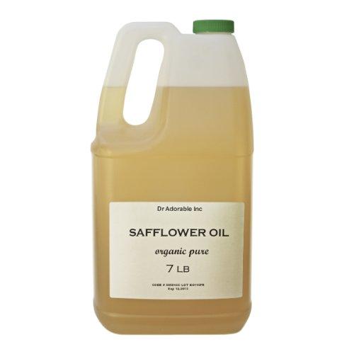 Safflower Oil High Oleic Organic 100% Pure 128Oz / 7 Lb / One Gallon front-869796