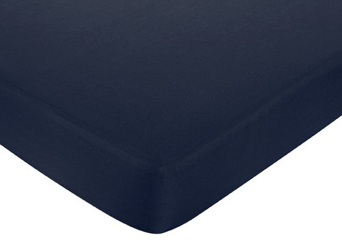Navy And White Baby Bedding 8420 front