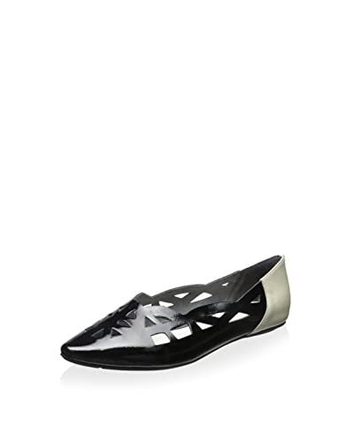 Chocolat Blu Women's Glory Sandal  [Black Patent Leather]