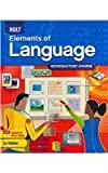 Holt Elements of Language: Introductory Course, Grade 6