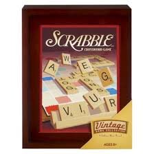Image of Parker Brothers Vintage Game Collection Exclusive Wooden Book Box Scrabble