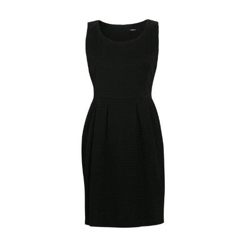 Siste's Women's Sleeveless Dress With Pleats In Size M Black