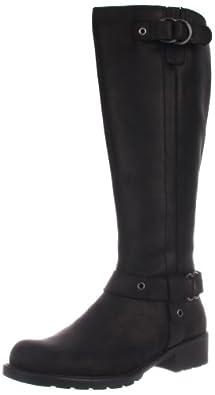 Clarks Women's Orinocco Step Motorcycle Boot,Black,6 M US