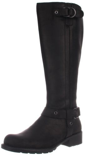Clarks Women's Orinocco Step Motorcycle Boot,Black,7.5