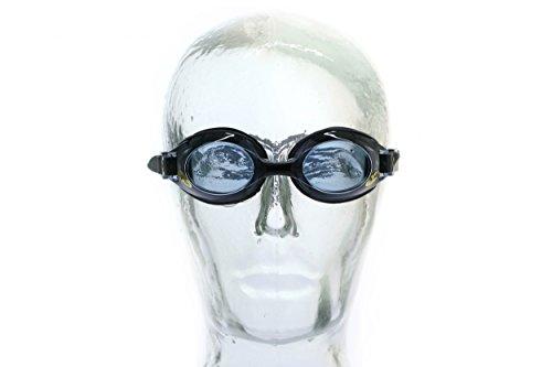 Aqua Speed® Schwimmbrille mit Sehstärke / Dioptrien (Kinderversion erhältlich): linkes & rechtes Glas individuell nach Ihren Wünschen wählbar + UP® Schlüsselanhänger