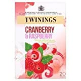 Twinings Cranberry And Raspberry 20'S 40G