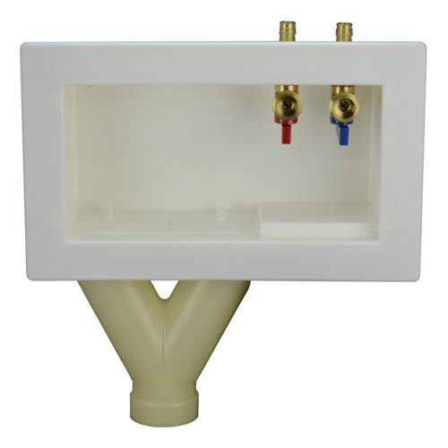 Washing Machine Plumbing Box front-620847