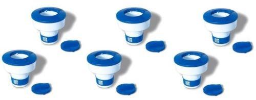 pool-equipment-parts-6-swimline-hydrotools-8725-swimming-pool-adjustable-floating-chlorine-dispenser