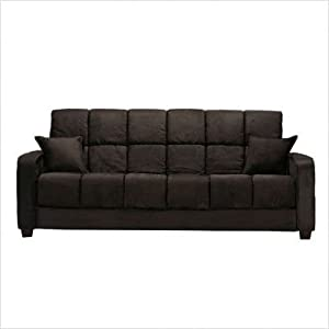 Review Costa Sleeper Sofa – Microfiber Black